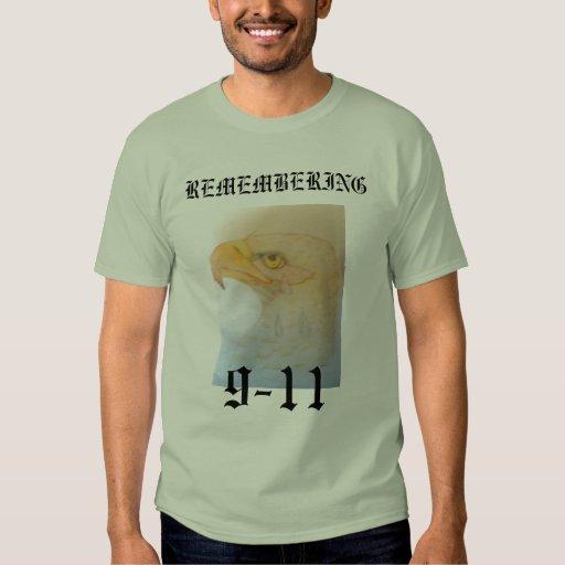 REMEMBERING , 9-11 T-Shirt