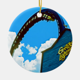 Remembering Astro World Amusement Park Ceramic Ornament
