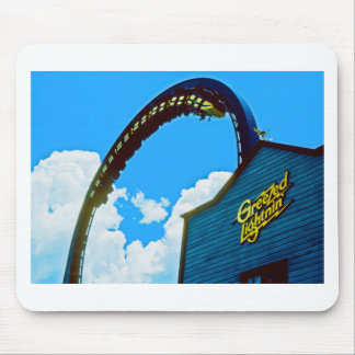 Remembering Astro World Amusement Park Mouse Pad