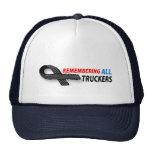Remembering fallen truckers hat.