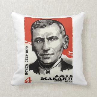 Remembering John Maclean Throw Cushion Throw Pillow