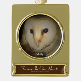 """Remembering Molly"" 2016 MODs Foundation ornament"