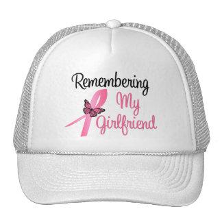 Remembering My Girlfriend - Breast Cancer Trucker Hat