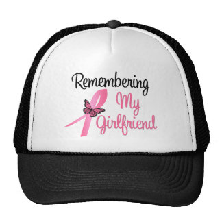 Remembering My Girlfriend - Breast Cancer Hats