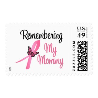 Remembering My Mommy - Breast Cancer Awareness Stamp