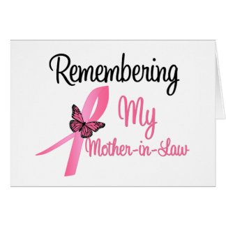 Remembering My Mother-in-Law - Breast Cancer Cards