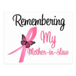 Remembering My Mother-in-Law - Breast Cancer Postcard