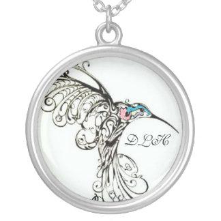 remembering Nana Round Pendant Necklace