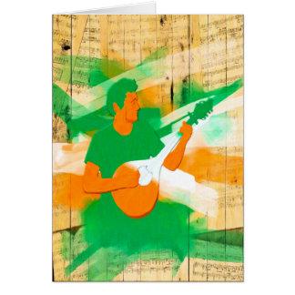 Remembering Nights Of Irish Music Card