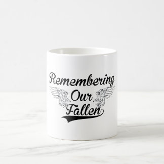REMEMBERING OUR FALLEN COFFEE MUG