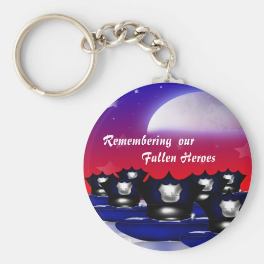 Remembering our Fallen Heroes.....(Police) Keychai Keychain