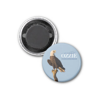 Remembering Ozzie Circle Magnet