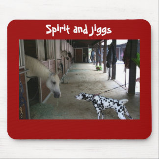 Remembering Spirit and Jiggs Meeting Mousepads