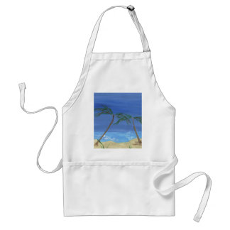 Remembering Sunny Times Landscape Art Adult Apron