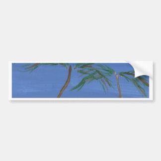 Remembering Sunny Times Landscape Art Car Bumper Sticker