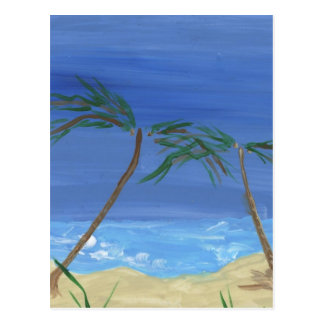 Remembering Sunny Times Landscape Art Postcard