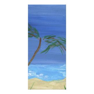 Remembering Sunny Times Landscape Art Rack Card