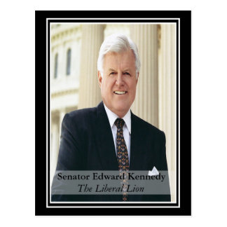 Remembering Ted Kennedy Post Card