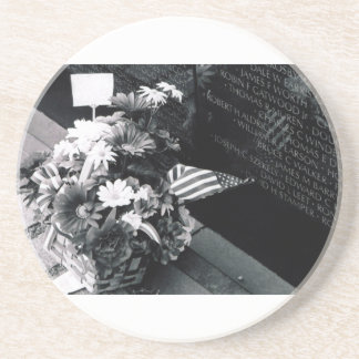 Remembrance At Vietnam Memorial Coaster