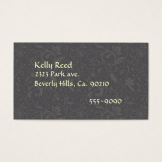 Remembrance Candles & Vines Business Card