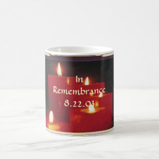Remembrance Candles & Vines Coffee Mug