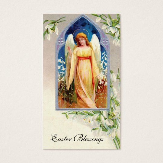 Remembrance Card: Easter Blessings Business Card