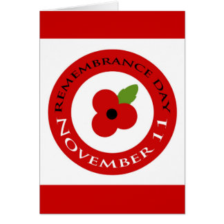 Remembrance Day - Card