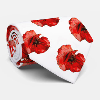 Remembrance day neck tie