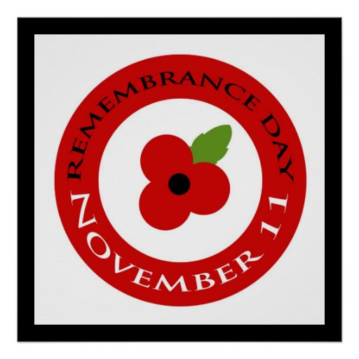 Remembrance Day - Poster