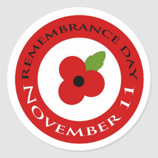 Remembrance Day - Sticker
