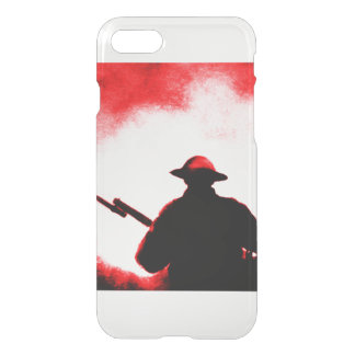REMEMBRANCE DAY,TROOPS,PAST/PRESENT iPhone 8/7 CASE