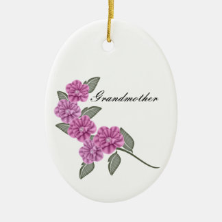 Remembrance In Memory of ... Ceramic Ornament