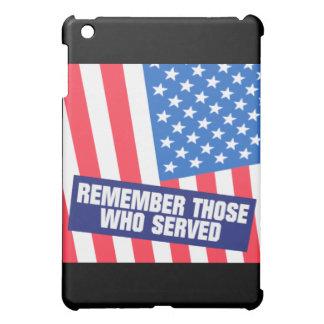 Remembrance iPad Mini Case