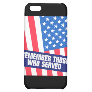 Remembrance iPhone 5C Cases