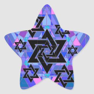 Remembrance of the Holocaust. Star Sticker