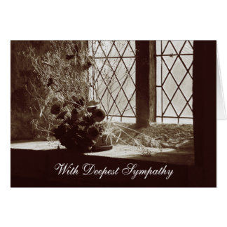 Remembrance | With Deepest Sympathy Card