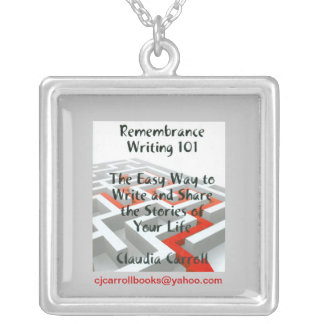Remembrance Writing 101 necklace