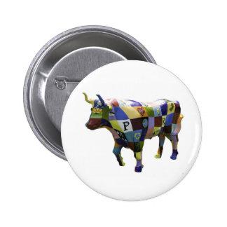 """""""Remienda"""" el botón (la gramática de la puerta de Pin Redondo De 2 Pulgadas"""