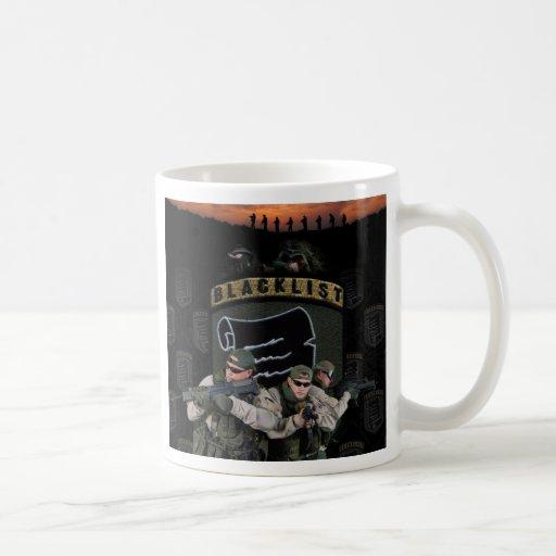 Remiendo 3man de la lista negra tazas de café