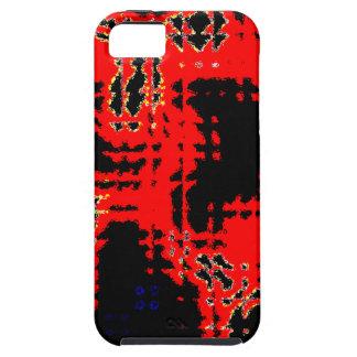 Remiendo abstracto iPhone 5 carcasa