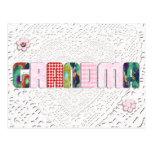 """Remiendo """"abuela"""" en cordón postal"""