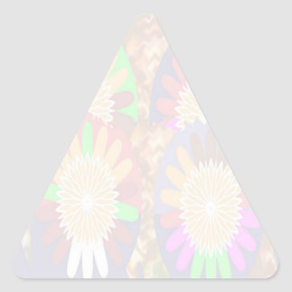 Remiendo artístico floral - fácil añada la imagen colcomanias trianguladas