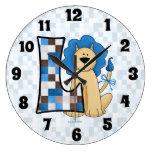 """Remiendo azul Mongoram """"L"""" reloj del león del niño"""