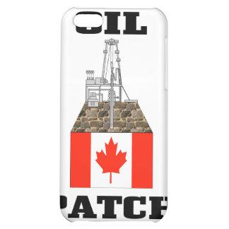 Remiendo canadiense del aceite, plataformas petrol