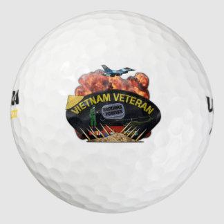 remiendo conmemorativo de los veterinarios de los pack de pelotas de golf