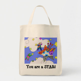 Remiendo de baile de la estrella bolsa tela para la compra