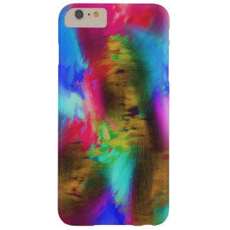 Remiendo de colores funda para iPhone 6 plus barely there