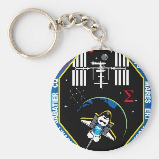Remiendo de grupo de la carga útil del STS 131 Llavero