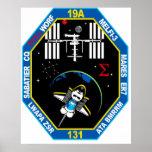 Remiendo de grupo de la carga útil del STS 131 Impresiones