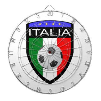 Remiendo de la bandera de Italia/de Italia - con e